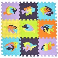 Мозайка с рыбами